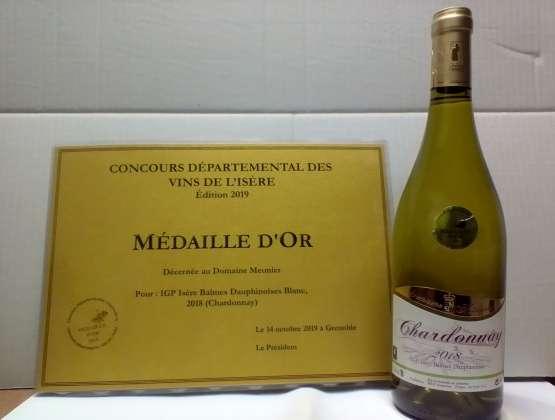 Médaille d'Or pour le domaine…
