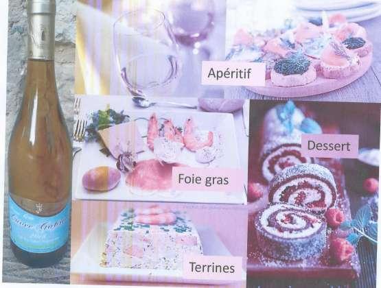 Cuvée Gabriel ( Blanc doux ) pour les repas de fêtes